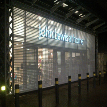Perforated Shutter Manchester, Perforated Roller Shutter Doors in UK
